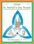 2016 NYC St. Patrick's Day Parade Program