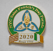 2019 NYC St. Patrick's Day Parade Pin